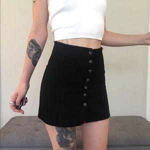 ☆ Black Reformation Mini Skirt ☆